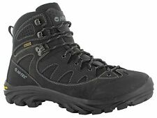 Hi-Tec Maipo Black Leather Waterproof Trail Performance Mens Hiking Boots UK7-13