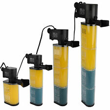 4 Styles Internal Filter Filtration Water Pump f/Aquarium Fish Tank