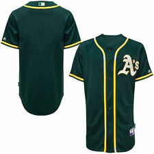 Oakland Athletics Majestic Big & Tall Cool Base Team Jersey - Green - MLB