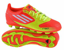 Adidas F5 TRX HG Red Moulded Stud Boys Kids Football Boots Trainers Size 10-5 UK