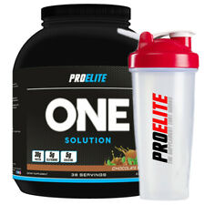 Pro Elite One Solution All In One Mass & Size Gainer Powder 2.27kg + FREE SHAKER
