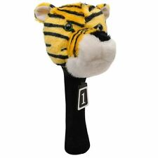Dunlop Sports Novelty Knitted Sock Protection Character Tag Golf Head Cover New