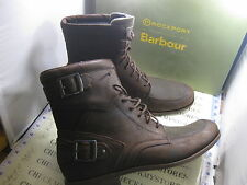NIB $270 NEW MEN'S ROCKPORT BARBOUR DAY TO NIGHT D2N BUCKLE HI RAIZE/SAG BOOTS