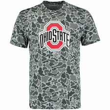 Ohio State Buckeyes Isolation Sublimated Camo T-Shirt - Gray - College