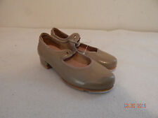 Girls toddler  Dance Tap Shoes Size 9 M BLOCH Brown