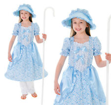 Childrens Little Bo Peep Fancy Dress Costume Book Week Childs  Outfit 3-10 Yrs