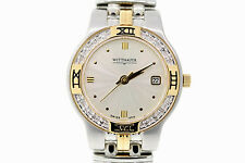 Ladies Wittnauer 12R12 Laureate Two-Tone Stainless Steel Diamond Accent Watch