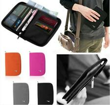 POP Travel Wallet Bag Passport Tickets Document Organizer Holder Credit Card Bag