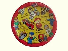 Birthday Heroes Party Supplies-Fireman-Train Conductor-Policeman-Astronaut-Docto