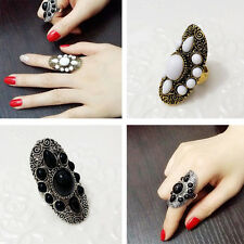 NEW Fashion Punk Vintage Ring Womens Retro Finger Rings Boho Style Charm Jewelry