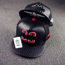 New Unisex Fashion Adjustable Baseball Cap Snapback Hip-hop Hat Flattened Hat