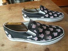 mens/womens VANS ( pink foxes ) trainers - size uk 8 great condition !