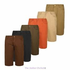 "MENS NEW CHINO SHORTS FIT CASUAL SUMMER COTTON REGULAR SHORT PANTS 32""-42"""