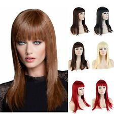 New Sexy Women Fashion Wig Long Straight Natural Soft Hair Full Wigs Francy #033