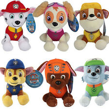 PAW PATROL Soft Plush Toy Doll Marshall Rubble Chase Rocky Skye Snowboard