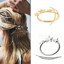 fashion star Princess metal step more updo hoop hair stick Pin Accessories