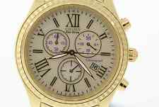 Ladies Citizen FB1362-59P Eco-Drive Gold-Tone Stainless Chronograph Watch