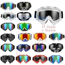 Motorcycle Racing Goggles Eyewear Offroad Dirtbike Antifog Adult Riding Ski