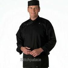 Le Chef Academy Tunic Black With Two Way Fastening Unisex Long & Short Sleeve