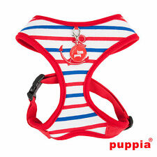 Dog Puppy Harness - Puppia - Capitane - Red - Choose Size