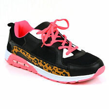 LADIES WOMENS TRAINERS GYM JOGGING SPORTS RUNNING CASUAL FITNESS SHOES SIZE LC