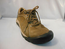 Keen Brown Leather Casual Oxford Shoes Women's Size 8.5 M ; 39 EU