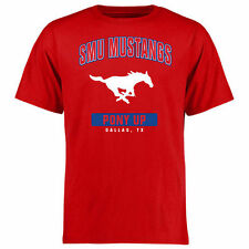 SMU Mustangs Campus Icon T-Shirt - Red - College