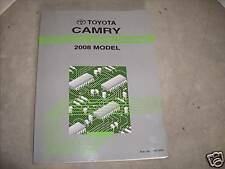2008 Toyota Camry Electrical Wiring Diagram Service Repair Shop Manual 08 EWD