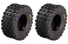 """Pair 2 9"""" Sun-F A-027 High Traction Cross Country Rear Tire 20x10-9 6-Ply"""
