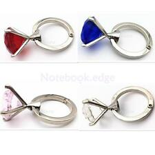 New Folding Rhinestone Purse Hanger Handbag Decor Desk Hook Holder 4 Colors