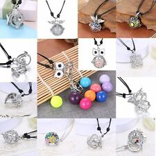 New Ball Locket Pendant Chain Necklace Pregnant Women Girls Baby Jewelry