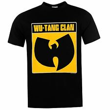 Official Band Merch Mens Tang Clan T Shirt Short Sleeve Round Neck Tee Top