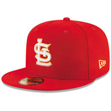 St. Louis Cardinals New Era Finest 59FIFTY Fitted Hat - Red - MLB