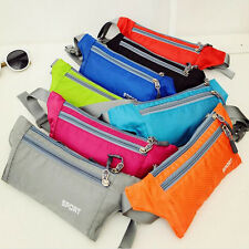 Running Belt Bum Waist Pouch Fanny Pack Camping Sport Hiking Zip Bag Waterproof