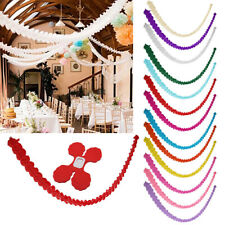 3M Paper Bunting Banner Garland Wedding Bridal Shower Party Decoration Gift