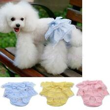 Reusable Dog Sanitary Female Pet Puppy Sanitary Pants Briefs Diaper 3 Color Pick