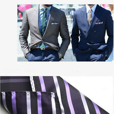 New Men Silk Satin Pocket Square Hanky Wedding Party Handkerchief Kerchief Towel