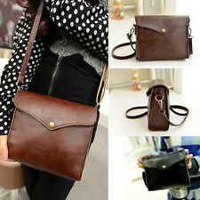 Women New Fashion Leather Satchel Handbag Shoulder Tote Messenger Crossbody Bag