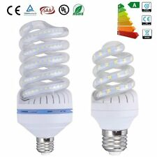 E27 Spiral Shape LED 9W 30W SMD Bulb Light Wide Beam Angle 6000K Bright White