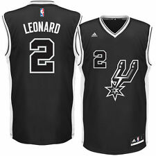 Kawhi Leonard San Antonio Spurs adidas Alternate Replica Jersey - Black - NBA