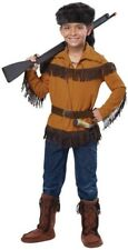 Davy Crockett FRONTIER Pioneer Daniel Boone Native American Indian Child Costume