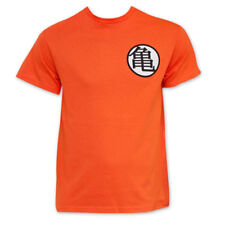 Dragon Ball Z King Kai Goku Symbol Costume T-Shirt Orange