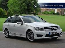 2013 Mercedes-Benz C-Class C220 CDI BlueEFFICIENCY AMG Sport Diesel white Automa