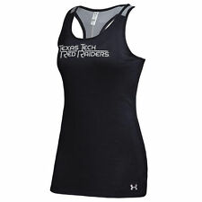 Texas Tech Red Raiders Under Armour Women's Victory Performance Tank Top � Black