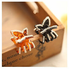 New  Crystal Butterfly Rhinestone Claw Hairpin Women Hair Clamp Accessory Clip
