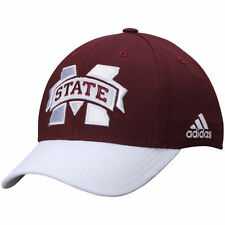adidas Mississippi State Bulldogs Fit Flex Hat - College