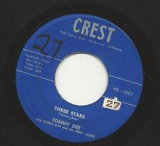TOMMY DEE /CAROL KAY- THREE STARS - 59 TRIBUTE TO HOLLY, VALENS/BIG BOPPER