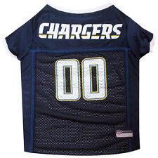 Los Angeles Chargers NFL mesh Pet Dog Game Jersey (all sizes)