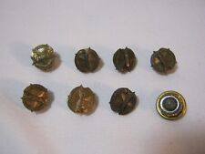 Various Years of Vintage American Legion Membership 8 Brass Lapel Pins Lot   T*