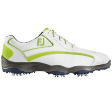 FootJoy Mens FJ Superlites CT Closeout Golf Shoes 58008 – White/Navy/Lime - New